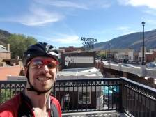 Welcome to Glenwood Springs, 40 miles left of first day!