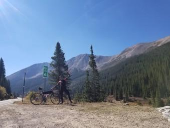 5 miles left to climb!
